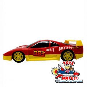 Carro Ferrari policia