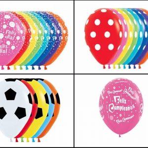 Globos sempertex R12 x 12 para decorar fiestas