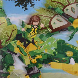 Bloques para Armar Dragón Tipo Lego Toysmarket