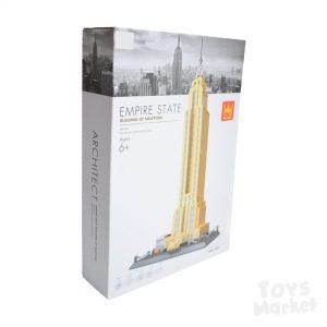 Edifico Empire State Lego Rompecabezas